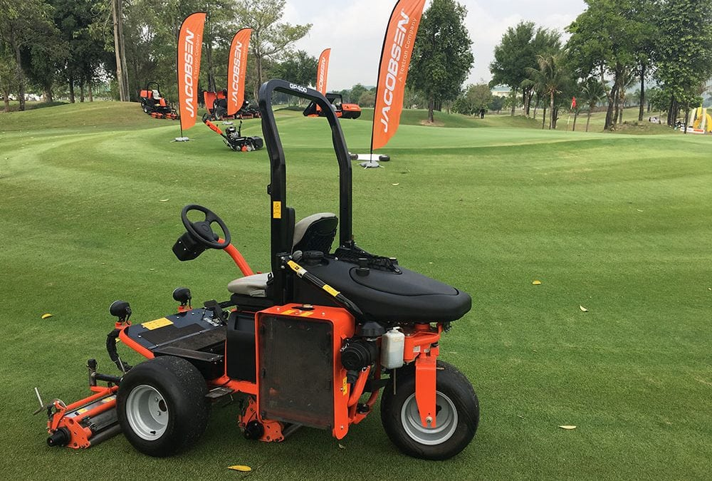 Jacobsen Impresses at Thai Asian Golf Industry Federation Turfgrass Management Expo