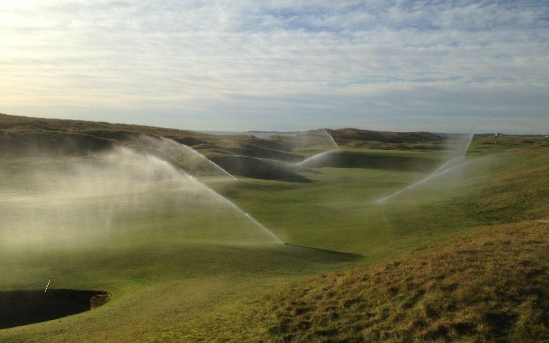Whatever the weather – not a drop more water than the turf needs