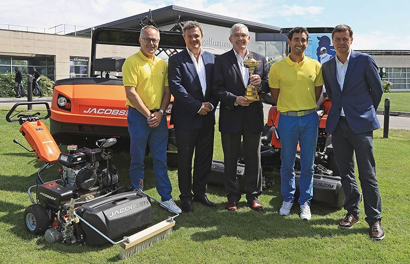 Jacobsen becomes Ryder Cup supplier