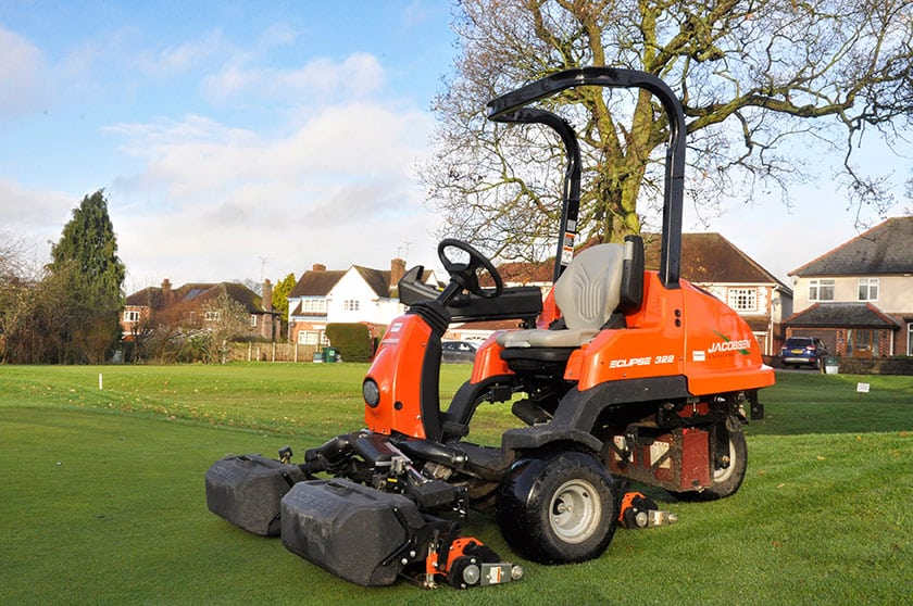 Upton-by-Chester Golf Club Saves Time, Money and Neighbours with Jacobsen