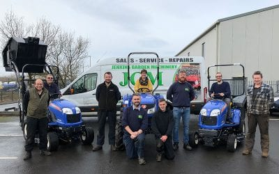 Jenkins Garden Machinery join forces with ISEKI